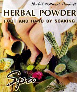 Herbal Powder (Foot & Hand) - Soaking Spa (25g)