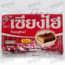 Chocolate Flavoured Cream Wafers – Sanghai 72g (pack of 12)