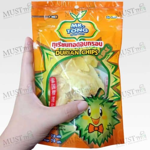 Crisp Fried Durian Chips