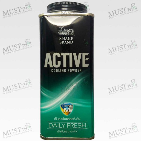 Snake-Active Daily Fresh Cooling Powder