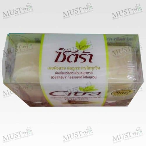 Thanaka Whitening Scrub Face and Body Soap - Citra (110g.)