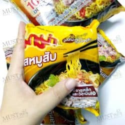 MaMa Instant Noodles Minced Pork Flavour 60 g pack of 10
