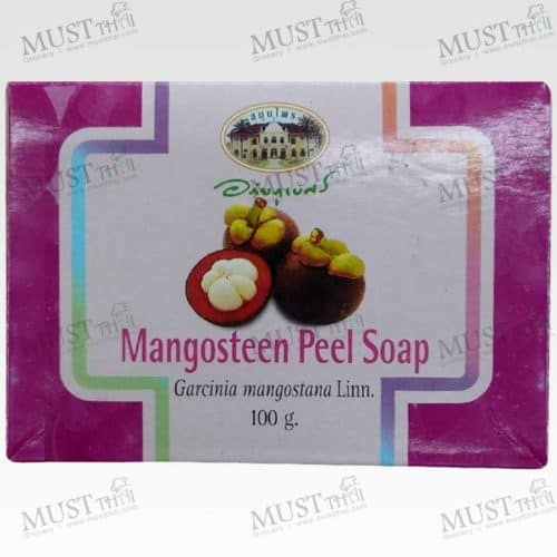 Mangosteen Peel Soap Bar - Abhaibhubejhr (100g)