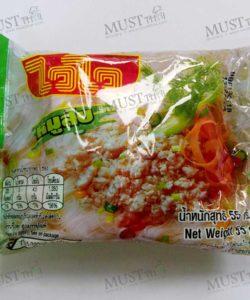 Instant Rice Vermicelli Minced Pork Flavour - Wai Wai (55g)