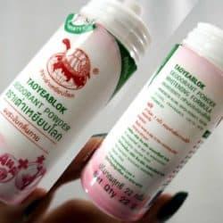 Whitening Formula Sakura Scent Deodorant Powder - Taoyeablok (22g)