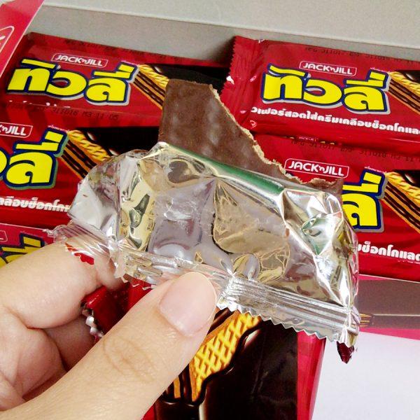 Jack n' Jill Tivoli Chocolate Coated Wafer Filled with Cream Box 25g x 12pcs - Tivoli (300g)