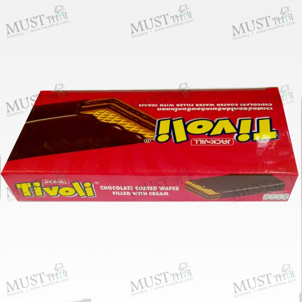 Jack n' Jill Tivoli Chocolate Coated Wafer Filled with Cream Box 25g x 12pcs - Tivoli (300g)