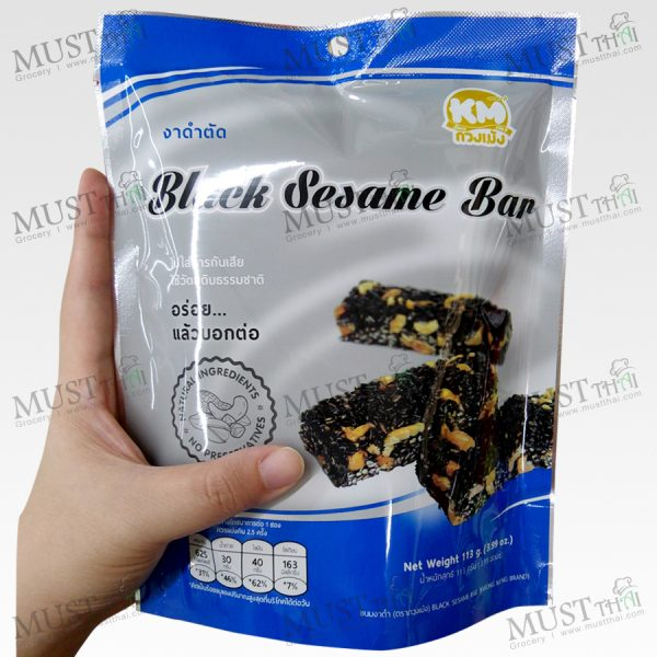 Thai Classic Desserts Black Sesame Bar 113g Thai