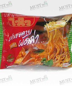 Instant Noodles Pad Char Baby Clam Flavour - Wai Wai (Pack of 60g x 10pcs)