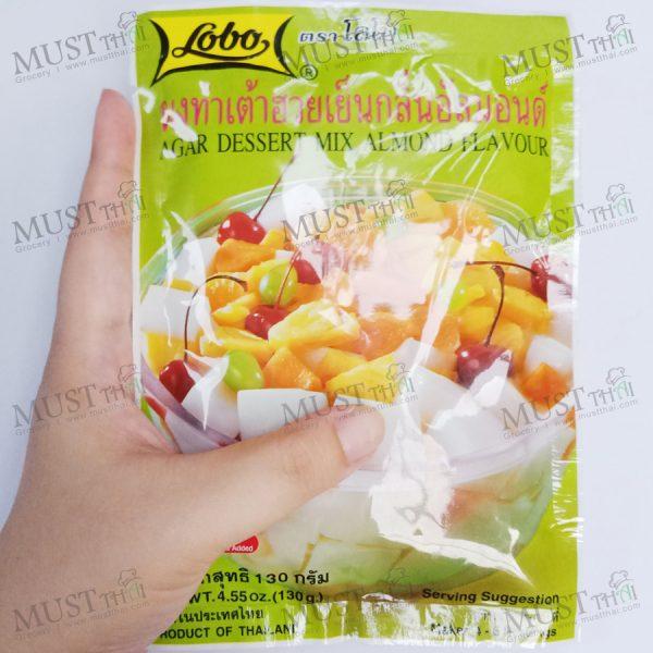 Almond Flavour Agar Dessert Mix - Lobo (130g.)