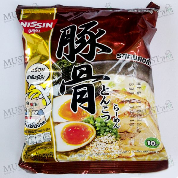 Instant Noodle Tonkotsu Ramen Flavour - Nissin (60g)
