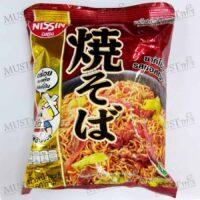 Instant Noodle Yakisoba Japanese Sauce Flavour - Nissin (60g)