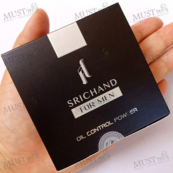 Srichand for men black edition oil control powder