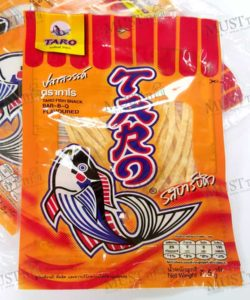 Fish Snack Barbeque Flavoured – Taro Pack (7.5 x 12g)