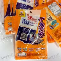 Taro Fish Snack Barbeque Flavoured 6g Pack of 12