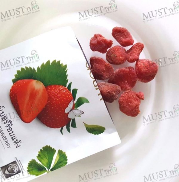 DOI KHAM Dehydrated Strawberry Snack Fruit