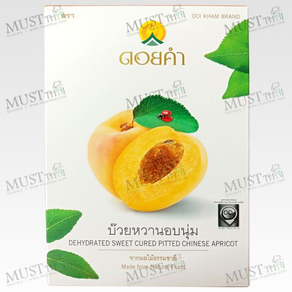 Doikham Dehydrate sweet cured pitched chinese apricot 80g
