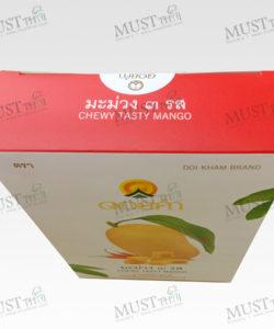 Doi kham Dehydrated Chewy Testy Mango fruit Snack