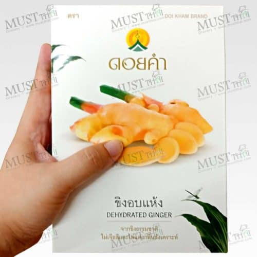 Doi kham Ginger has forms of traditional