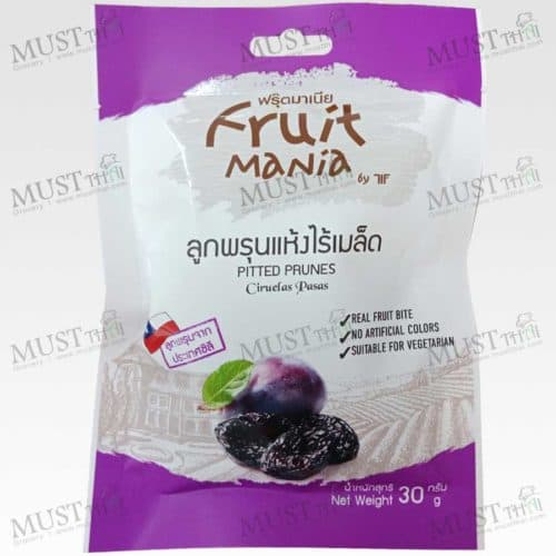 Seedless Dried Pitted Prunes - Fruit Mania