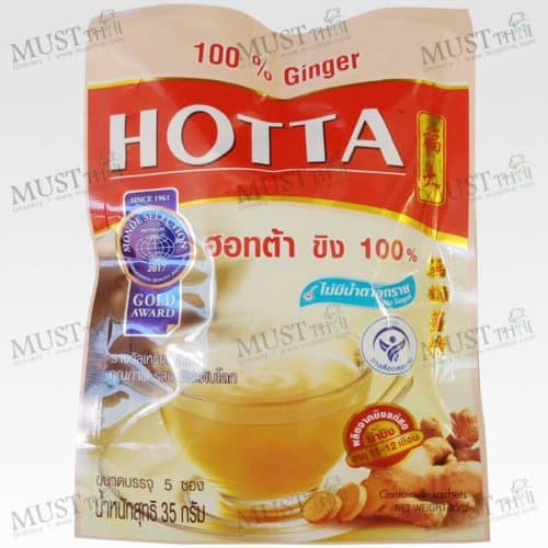 Hotta 100% Ginger No sugar added Instant 35g (7g x 5sachets)
