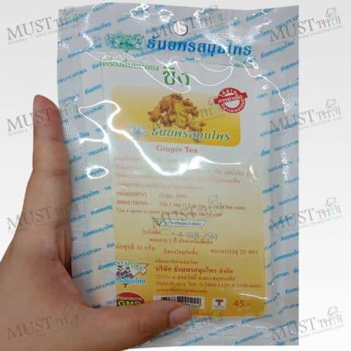 Thanyaporn Ginger Tea herbs Thai