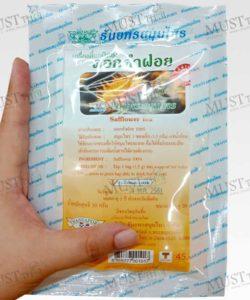 Safflower tea herbs – Thanyaporn (Pack of 1.5g x 20 Teabags)