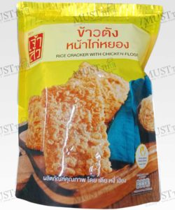 ChaoSua Rice Cracker with Chicken Floss 100g