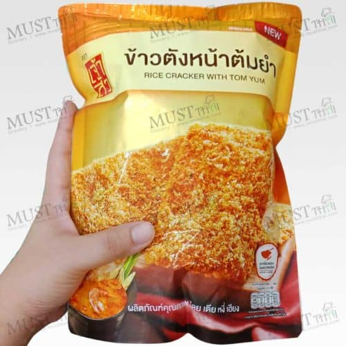 Chao Sua Rice Cracker with Tom Yum 100g