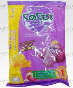 Dozo Corn Cheese Flavored Japanese Rice Cracker with Sweet Potato 56g