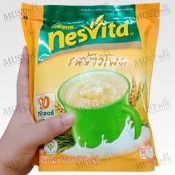 Nestle Nesvita Actifibras instant cereal beverage corn Flavor