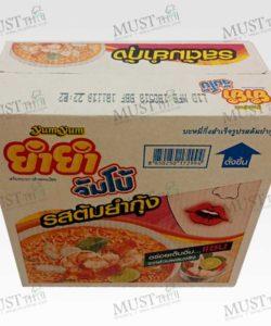 Yum Yum Jumbo Tom Yum Kung Flavour Instant Noodles 67gx30pcs