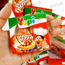 Mixed Fruits Flavour Gummy Gummi Pizza - Yupi 15g (box of 12)