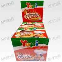 Mixed Fruits Flavour Gummy Gummi Pizza - Yupi 15g (box of 12)