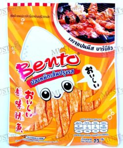 Bento Japanese Barbecue Flavour Seafood Snack 23g