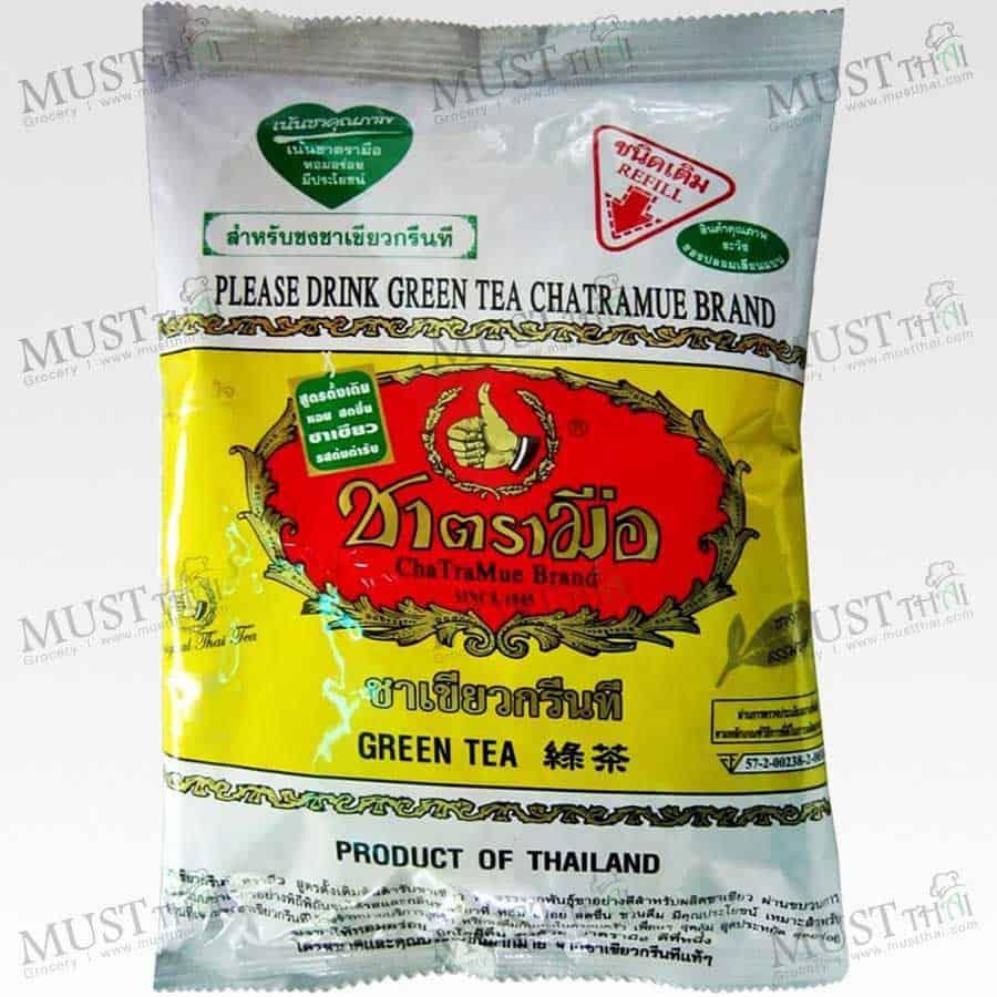 Chatramue Thai Green Tea Number One Brands 200g