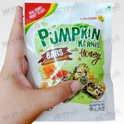 Flower Food Pumpkin Kernel Bars with Honey 30g