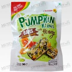Flower Food Pumpkin Kernel Bars with Honey 30g