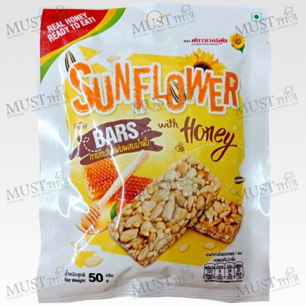 Flower Food Sunflower Bars with Honey 50g