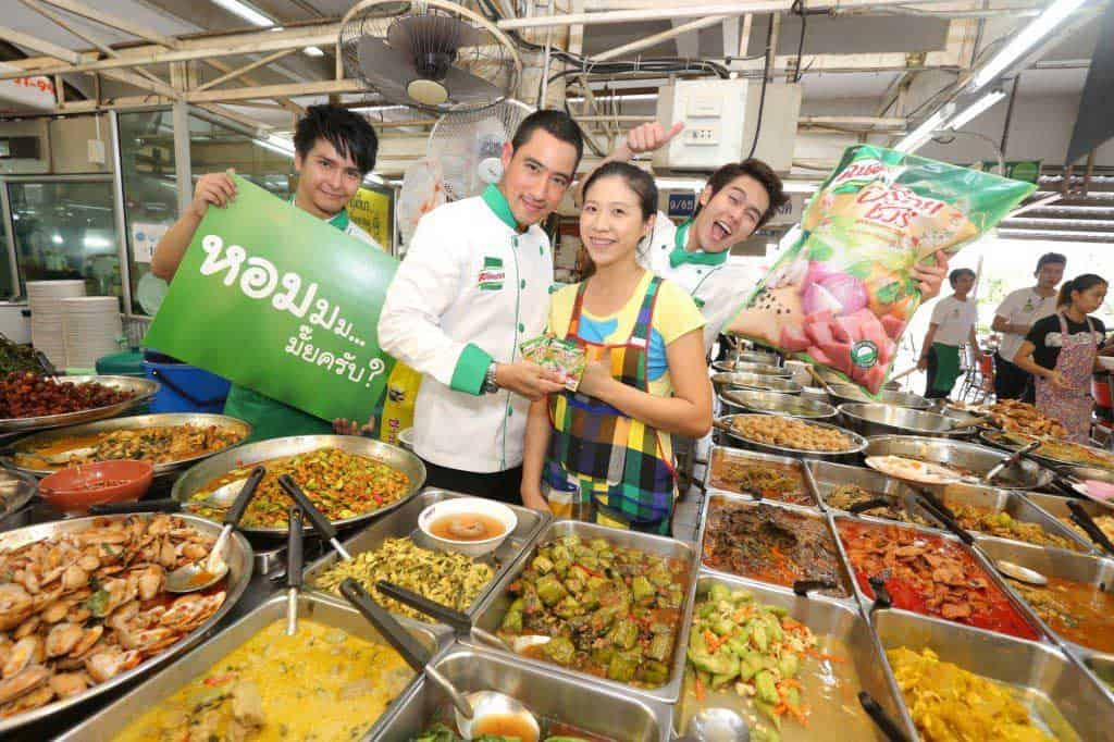 Thai Street food by : Instant Seasoning Knorr
