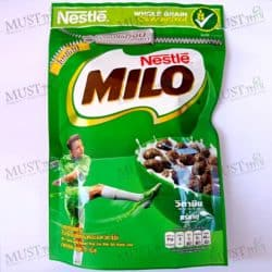 Milo Chocolate and Malt Flavoured Whole Grain Wheat Balls Breakfast Cereal 70g