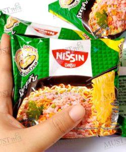 Nissin Instant Noodles Minced Pork Flavour 60g (pack of 5)