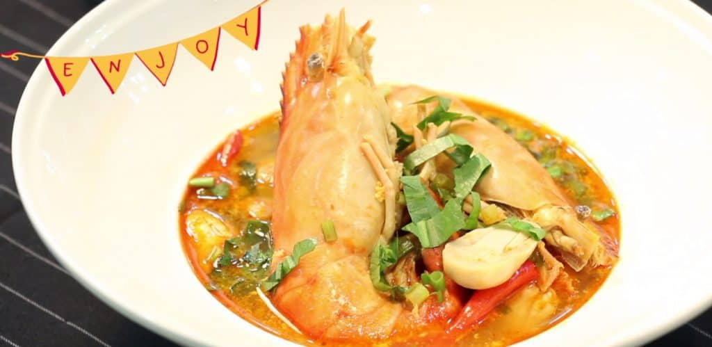 Prawn Tom Yum by Lobo 2in1