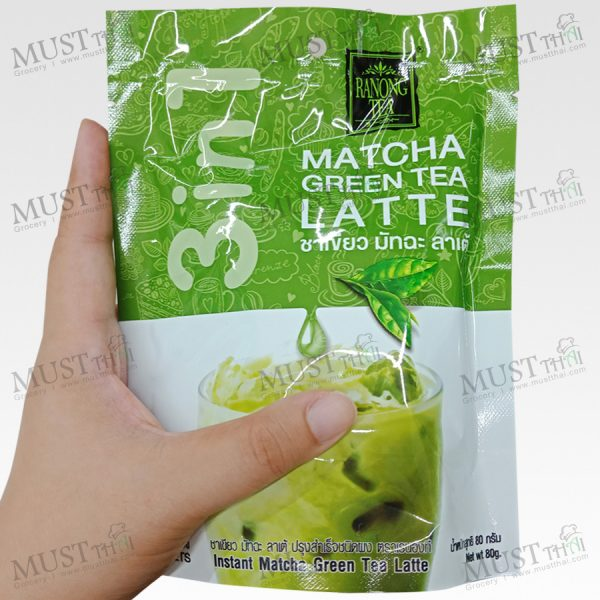 Ranong Tea 3in1 Matcha-Latte Green Tea 80g 20g x 4Sachets