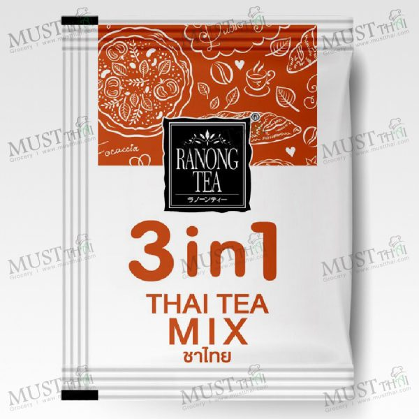 Ranong 3in1 Thai Milk Tea 100g 20g x 5Sachets