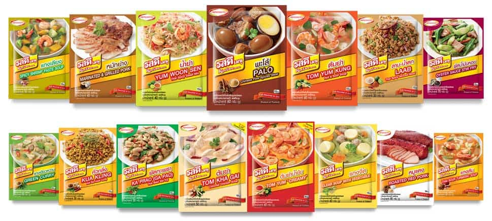 RosDee Menu, completed-taste menu seasoning powder