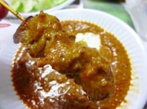 delicious Thai satay (peanut) sauce