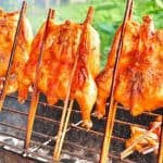 Thai style BBQ chicken, good for baking, frying or charcoal grill.