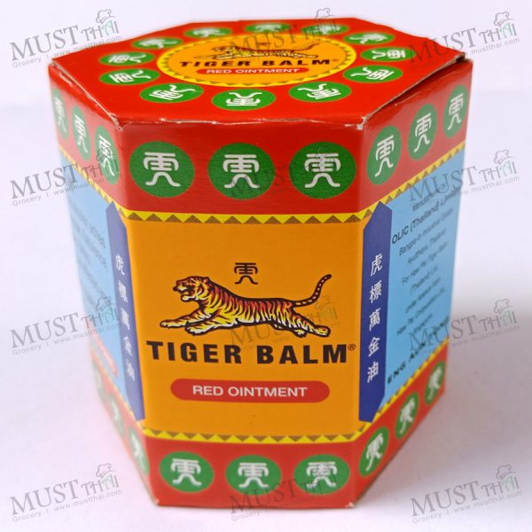 Tiger Balm HR Balm Red Ointment. Relief of stuffy nose, itchiness,