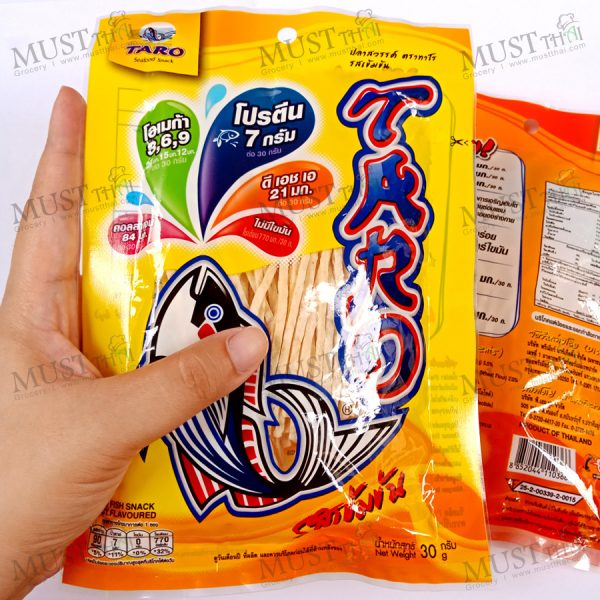 Taro is fish snack Spicy & BBQ Flavoured